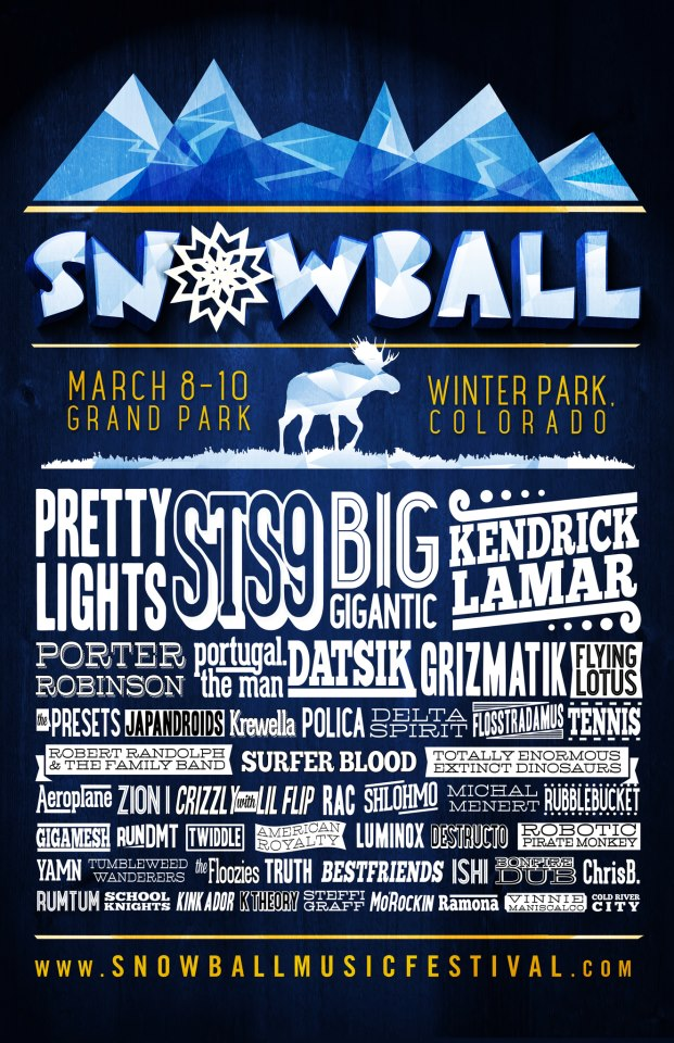 Festival Preview: Snowball 2013