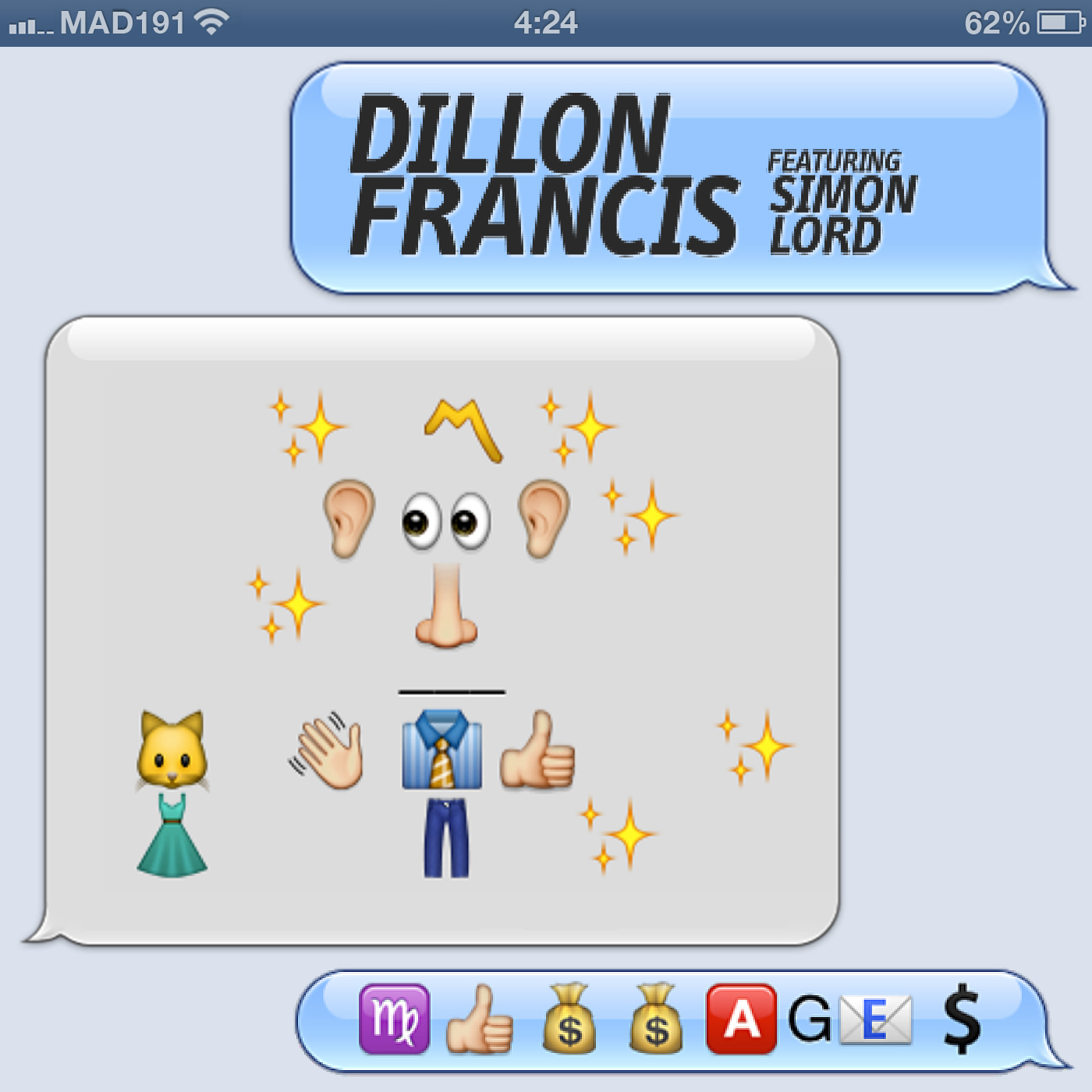Dillon Francis feat. Simon Lord – Messages