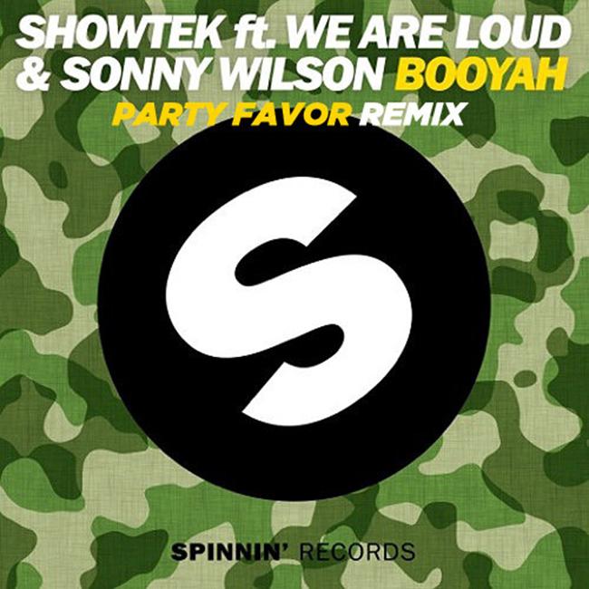 Booyah (Party Favor Remix) – Showtek feat. We Are Loud! & Sonny Wilson